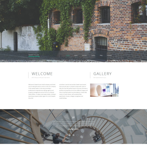 Sweet House - Real Estate Agency Template