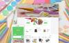 Reszponzív Művészeti boltok témakörű  Shopify sablon New Screenshots BIG
