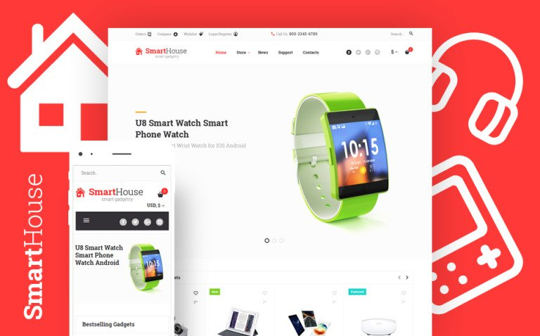 SmartHouse - Accessories & Gadgets WooCommerce Theme New Screenshots BIG