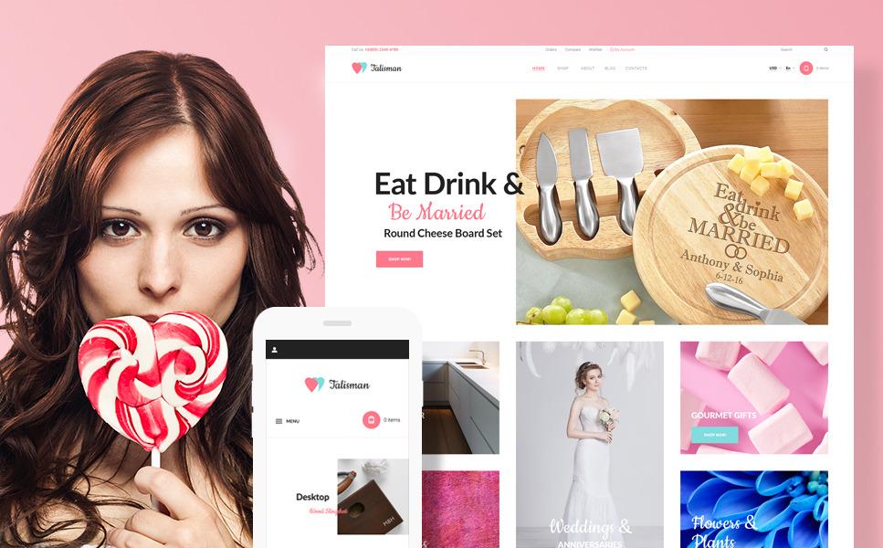 Talisman - Gifts Store Responsive WooCommerce Theme New Screenshots BIG