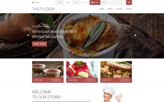 Tasty Dish OpenCart Template