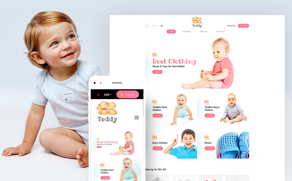 Teddy - Kids Shop WooCommerce Theme New Screenshots BIG