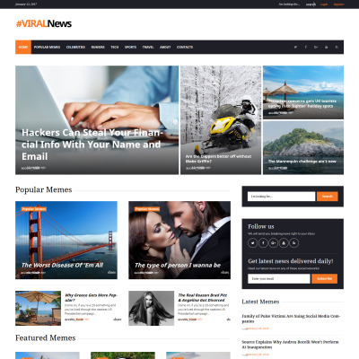 Plantillas WordPress para Sitios de Revistas