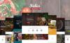 Template WordPress Responsive #59008 per Un Sito di Ristorante Indiano New Screenshots BIG