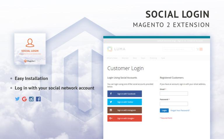 TM Social Login Magento Extension New Screenshots BIG