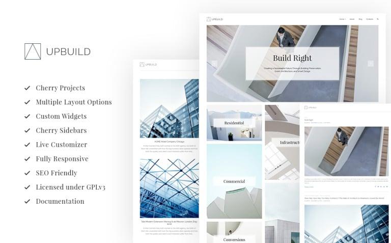 Upbuild - Architecture Firm WordPress Theme New Screenshots BIG