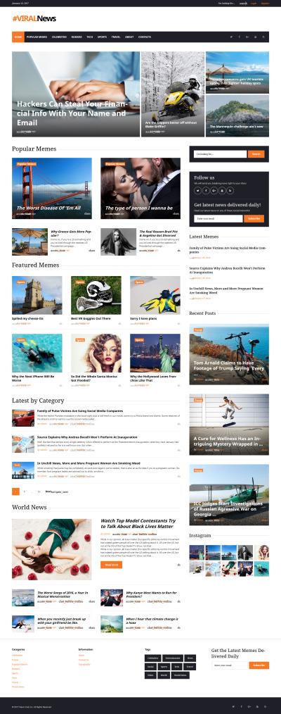 Viral News Portal & Magazine