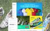 "VirtueMart šablona ""SoccerPRO"" New Screenshots BIG"