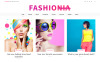 "WordPress шаблон ""Fashionia - блог о моде"" New Screenshots BIG"