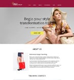 Fashion Website  Template 59102