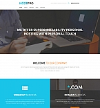 Web Hosting Moto CMS 3  Template 59119