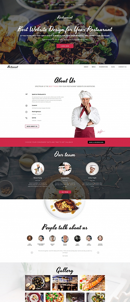 ADOBE Photoshop Template 59120 Home Page Screenshot