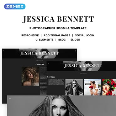 Preview image of Art & Photography Joomla Template No. 59132