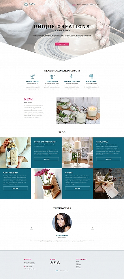 ADOBE Photoshop Template 59134 Home Page Screenshot