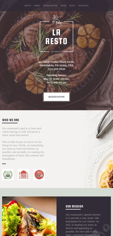 ADOBE Photoshop Template 59136 Home Page Screenshot