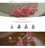 Wedding Moto CMS 3  Template 59138