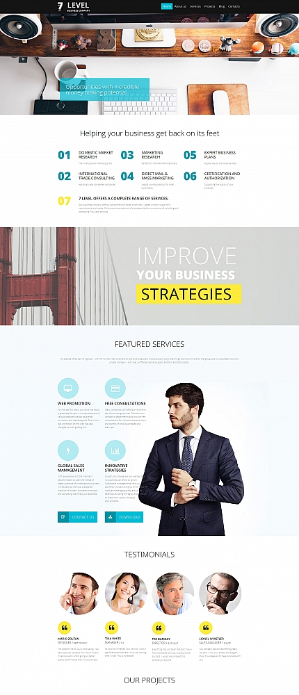 ADOBE Photoshop Template 59144 Home Page Screenshot