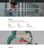 Security Moto CMS 3  Template 59145