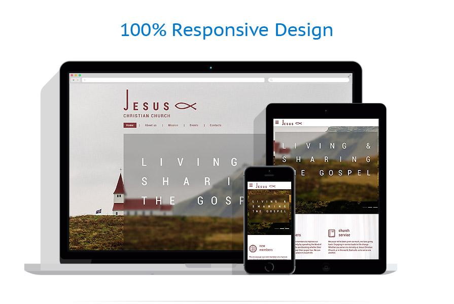 Modèles HTML5 Religieux #59154