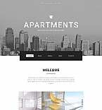 Real Estate Moto CMS HTML  Template 59155