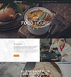 Food & Drink Moto CMS HTML  Template 59157