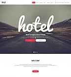 Hotels Moto CMS HTML  Template 59160