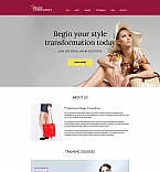 Fashion Moto CMS HTML  Template 59162