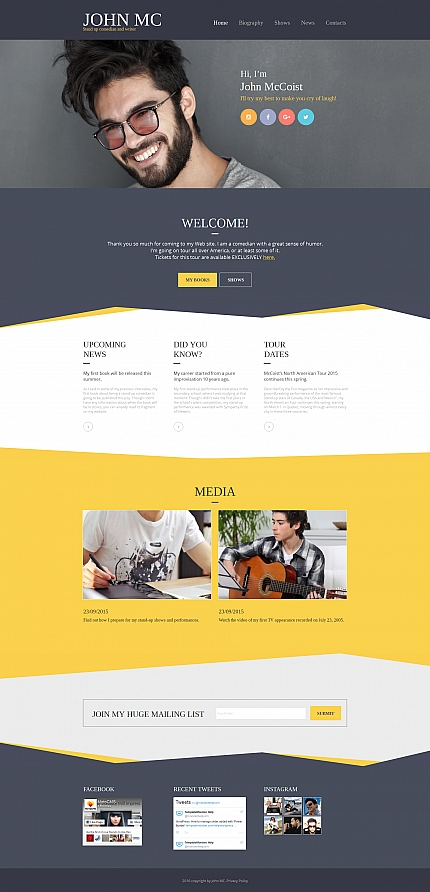 ADOBE Photoshop Template 59164 Home Page Screenshot