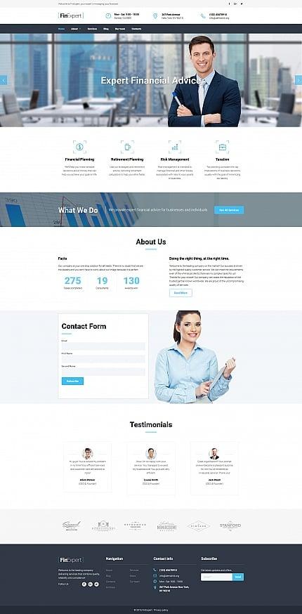 ADOBE Photoshop Template 59172 Home Page Screenshot