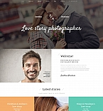 Art & Photography Moto CMS 3  Template 59177
