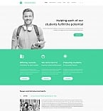 Education Moto CMS 3  Template 59179