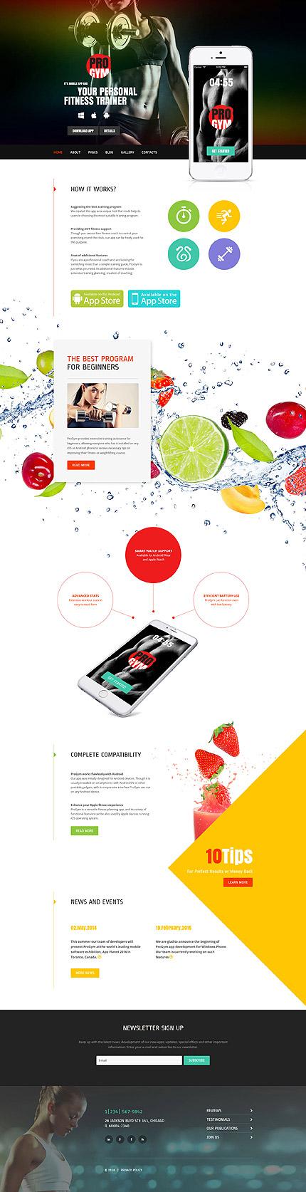 Joomla Theme/Template 59187 Main Page Screenshot