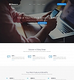 Communications Landing Page  Template 59192