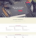 Software Landing Page  Template 59195
