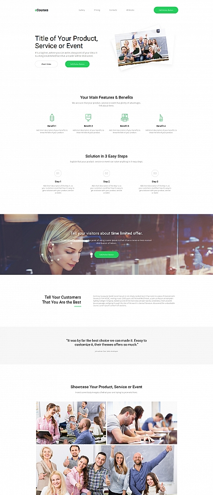 ADOBE Photoshop Template 59199 Home Page Screenshot