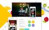 Адаптивний Joomla шаблон на тему фітнес New Screenshots BIG
