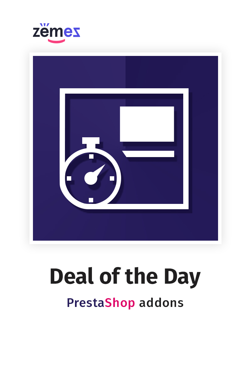 Deal of the Day Extensão PrestaShop №59125