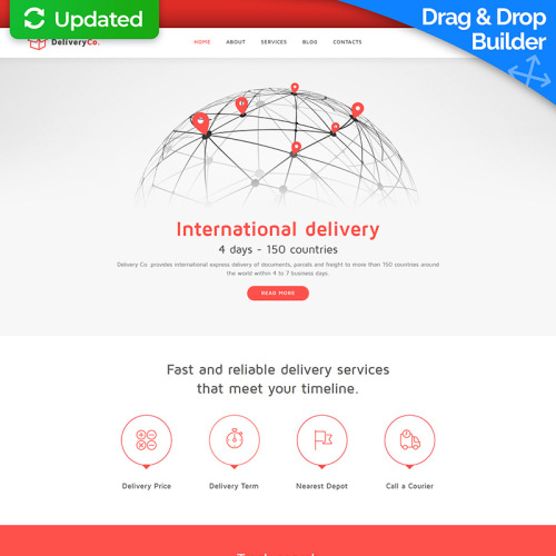 Delivery Co. - Transportation Company Template