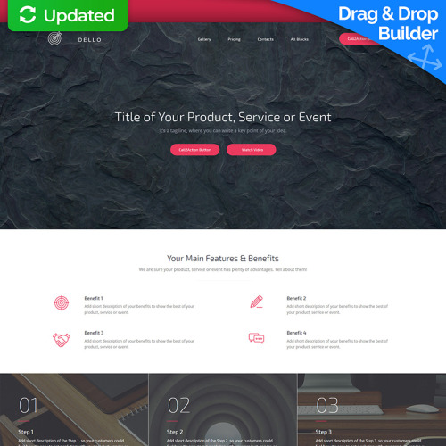 Dello - Landing Page Template based on Bootstrap