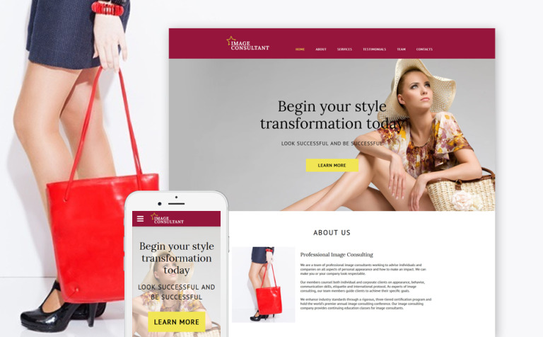 Fashion Site Template