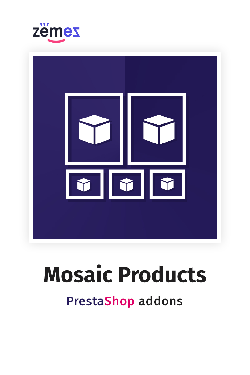Mosaic Products PrestaShop Module