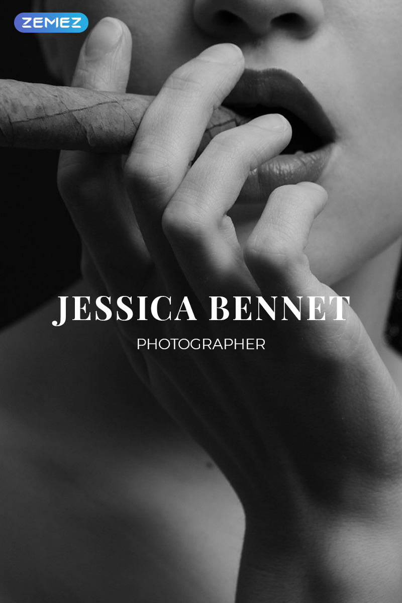 Photographer Portfolio Responsive Joomla Template New Screenshots BIG