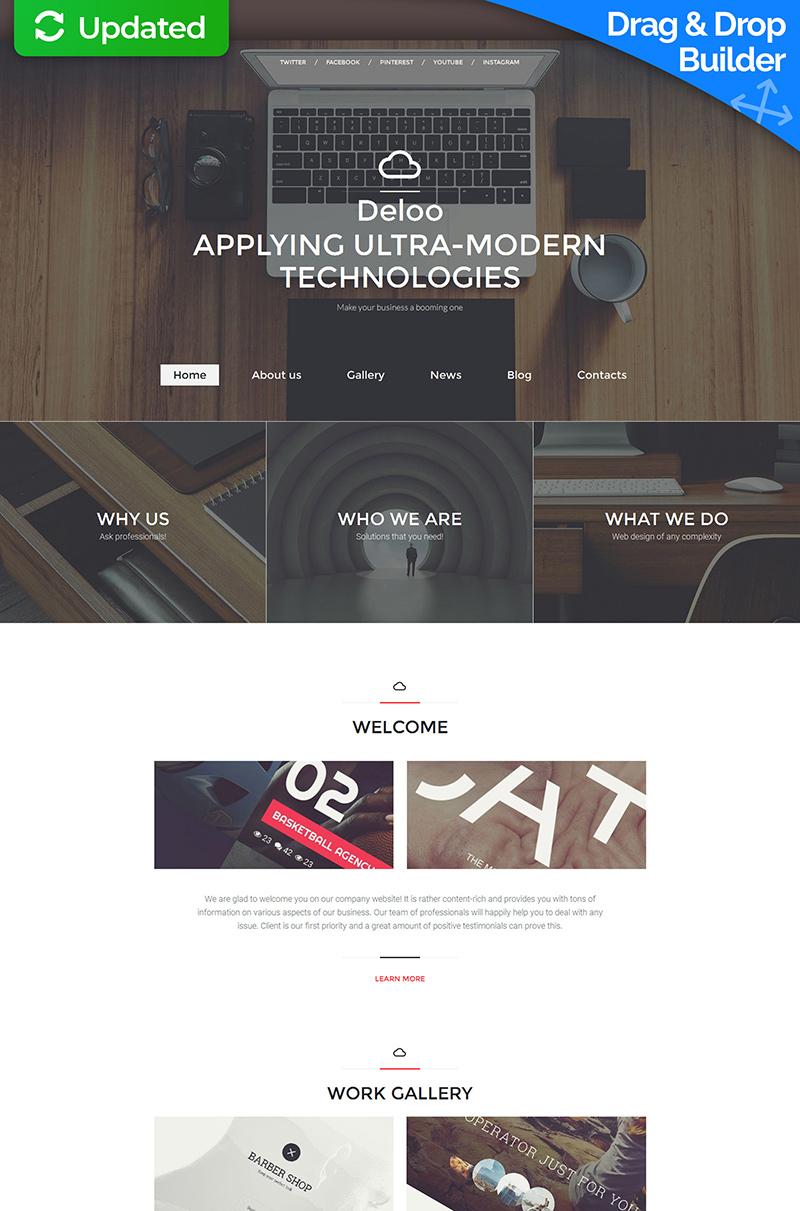 Responsive Web Tasarımı Moto Cms 3 #59104
