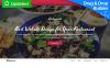 """Spectrum - Restaurant"" modèle Moto CMS 3 adaptatif New Screenshots BIG"