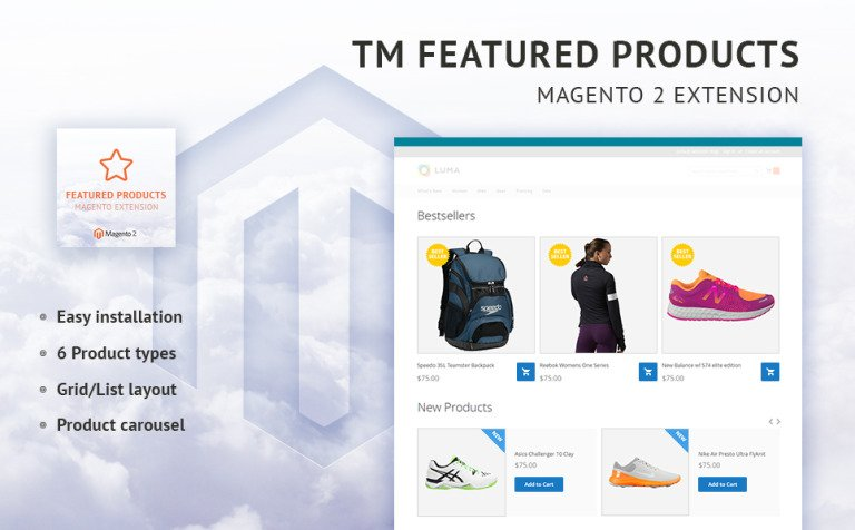TM Featured Products Magento Extension New Screenshots BIG