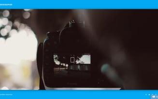 Videographer Joomla Template