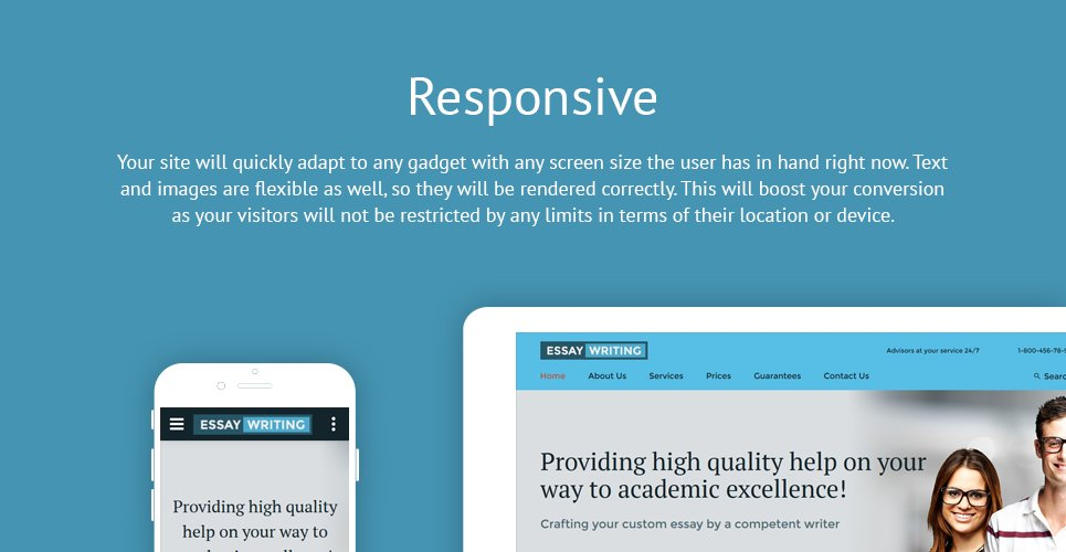 Essay Writing Website Template