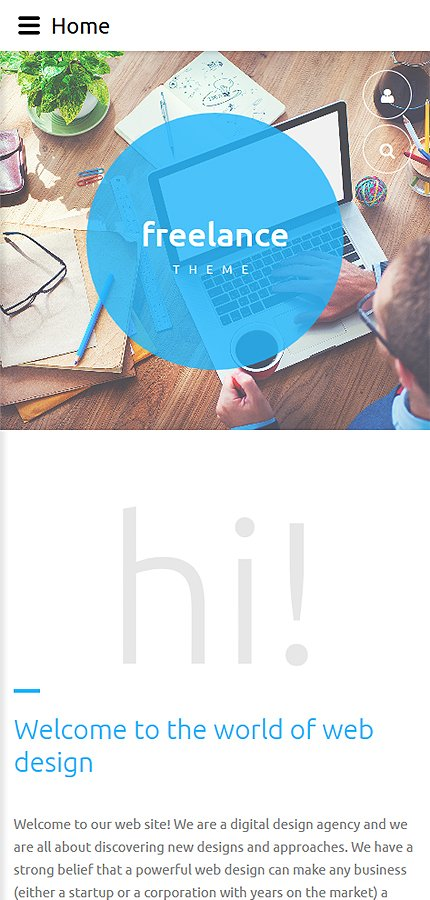 Joomla Theme/Template 59202 Main Page Screenshot