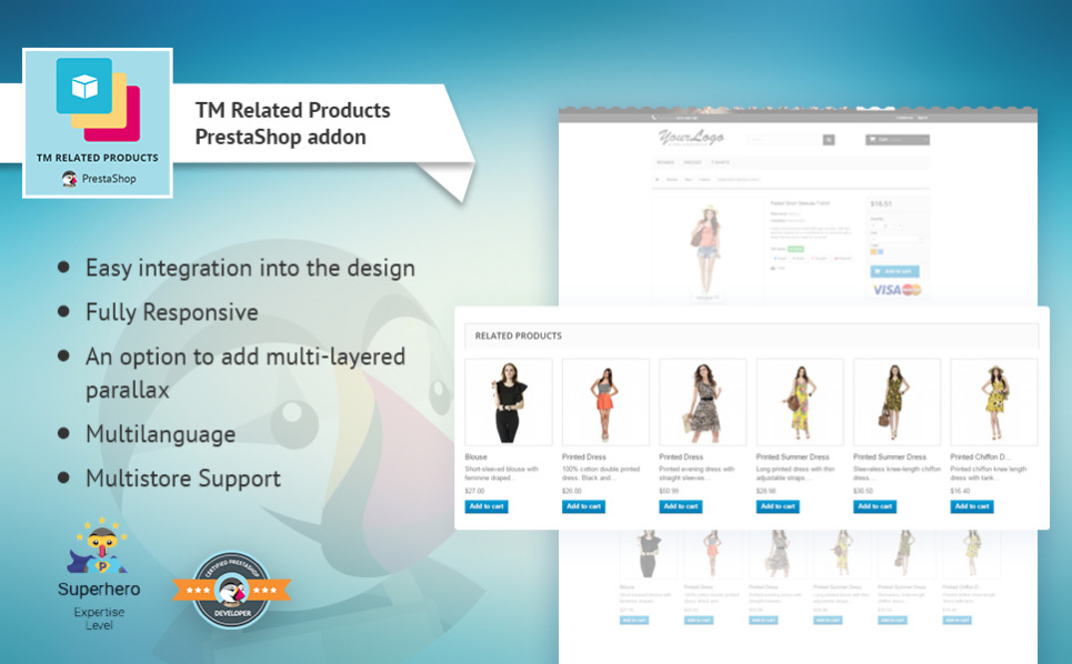 PrestaShop Erweiterung für Business und Dienstleistungen New Screenshots BIG