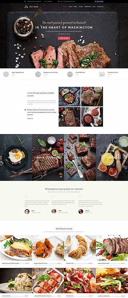 ADOBE Photoshop Template 59219 Home Page Screenshot